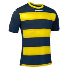 JOMA Europa III Jersey - Dark Navy / Yellow